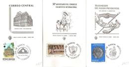 Argentina FDC Congresso Eucaristico Internazionale, Poste Centrali E Mandato Presidenziale - FDC