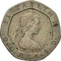 Monnaie, Grande-Bretagne, Elizabeth II, 20 Pence, 1982, TB, Copper-nickel - 1971-… : Monnaies Décimales