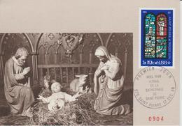 Carte Maximum 1988 Noel 496 - Cartes-maximum