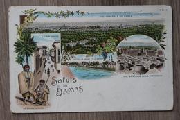 SALUT DE DAMAS (SYRIE) - VUE GENERALE DE LA FORTERESSE / BEDOUINS SYRIENS - Sri Lanka (Ceylon)