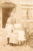 Photo Postcard / Foto / Old Photo / Family / Famille / Children / Enfants / Size: 8.70 X 13.80 Cm. / England - Photographie