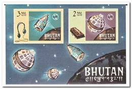 Bhutan 1966, Postfris MNH, 100 Years ITU - Bhutan