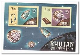 Bhutan 1966, Postfris MNH, 100 Years ITU ( Imperf ) - Bhutan