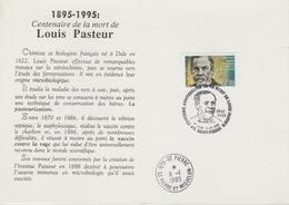 Souvenir De 1995 2 Volets L Pasteur 609 - FDC