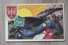 VIGNETTE AIGLE POLONAIS - CPA PATRIOTIQUE WW1 1914 -  POLSKA - Pologne
