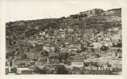 PALESTINA NAZARET, PC REAL FOTO, Circulated 1935 - Palästina