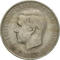 Monnaie, Grèce, Constantine II, 50 Lepta, 1970, TB+, Copper-nickel, KM:88 - Grèce
