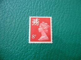 FRANCOBOLLO STAMPS   ELIZABETTA II 1974  8 P - 1952-.... (Elisabetta II)