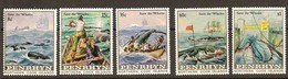 Penrhyn 1983 Yvertn° 232-236 *** MNH Cote 17 Euro Faune Whales Walvissen Baleines - Penrhyn