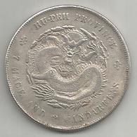 Cina, 1906, Dollar Hu Pen, Weight Gr. 19,86. - Cina