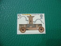 FRANCOBOLLO STAMPS   ELISABETTA II 1974  FIRST MOTOR FIRE ENGINE 10 P - 1952-.... (Elisabetta II)