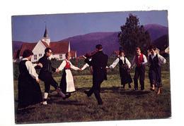 Carte Danse Cachet Sur Fleur - Noruega