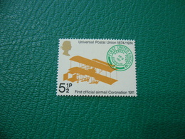 FRANCOBOLLO STAMPS   ELISABETTA II 1974  UNIVERSAL POSTAL UNION 5 1/2 P - Non Classificati