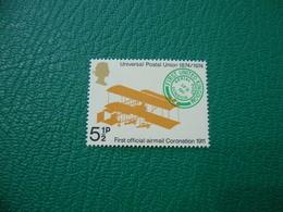 FRANCOBOLLO STAMPS   ELISABETTA II 1974  UNIVERSAL POSTAL UNION 5 1/2 P - 1952-.... (Elisabetta II)