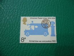 FRANCOBOLLO STAMPS   ELISABETTA II 1974  UNIVERSAL POSTAL UNION 8 P - 1952-.... (Elisabetta II)
