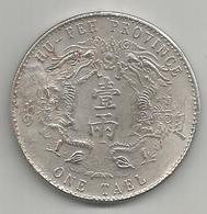Cina, 1904, Tael, Hu Pen, Weight Gr. 20,47. - Cina