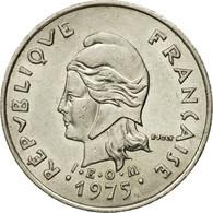 Monnaie, French Polynesia, 10 Francs, 1975, Paris, TTB, Nickel, KM:8 - French Polynesia