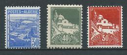 ALGERIE 1942 . N°s 171 , 172 Et 173 . Neufs ** (MNH) - Unused Stamps
