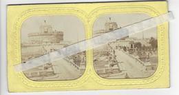 PHOTO STEREO Circa 1865 SURPRISE SYSTEME BATEAU VISIBLE A LA LUMIERE /FREE SHIPPING R - Stereoscopic