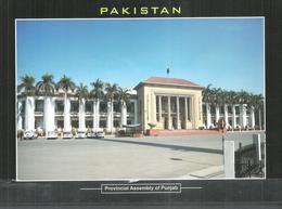 PAKISTAN POSTCARD , VIEW CARD PROVINCIAL ASSEMBLY OF PUNJAB - Pakistan