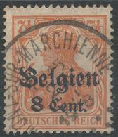 Lot N°44176  Occupation Allemande N°13, Oblit Cachet à Date ??MONT SUR MARCHIENNE - WW II