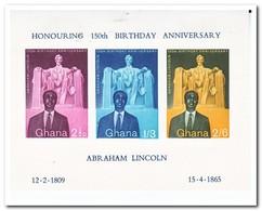 Ghana 1959, Postfris MNH, Abraham Lincoln - Ghana (1957-...)