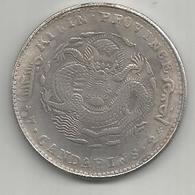 Cina, 1906, Dollar, Kirin, Weight Gr. 20,35. - Cina