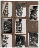 Rethie 1938  8 Foto's (8,5x6cm) - Retie
