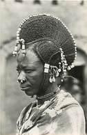 Pays Div - Ref M661- Niger - Coiffure De Femme Peule  - Carte Bon Etat  - - Niger