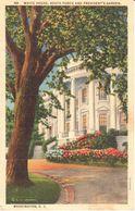 Etats-Unis - Washington DC - White House - South Porch And Presidents Garden - Washington DC