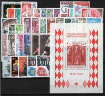Monaco 1973 Annata Completa / Complete Year Set **/MNH VF - Annate Complete