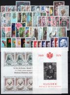 Monaco 1974 Annata Completa / Complete Year Set **/MNH VF - Annate Complete