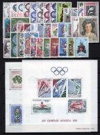 Monaco 1976 Annata Completa / Complete Year Set **/MNH VF - Annate Complete
