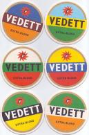 #D218-105 Reeks Viltjes Vedett - Sous-bocks