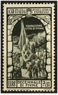 Italia - 1934 - Nuovo/new MNH - Fiume - Mi N. 477 - Nuovi