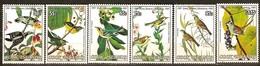 Cook 1985  Yvertn° 815-820 *** MNH Cote 25 Euro Faune Oiseaux Vogels Birds Audubon - Cook