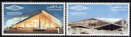 Qatar - 2018 - Qatar National Library - Mint Stamp Set - Qatar