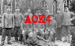 Kriegsinvaliden Verwundete Deutsche Soldaten Amputiert Blind Kloster Lazarett - Guerre 1914-18