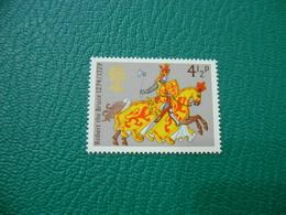FRANCOBOLLO STAMPS   ELISABETTA II 1974  ROBERT THE BRUCE  4 1/2 P - 1952-.... (Elisabetta II)