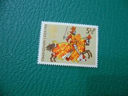 FRANCOBOLLO STAMPS   ELISABETTA II 1974  OWAIN GLYNDWR  5 1/2 P - 1952-.... (Elisabetta II)