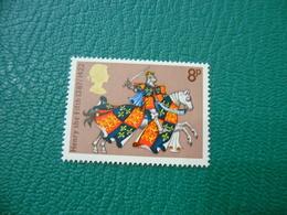 FRANCOBOLLO STAMPS   ELISABETTA II 1974  HENRY THE FIFTH  8 P - 1952-.... (Elisabetta II)