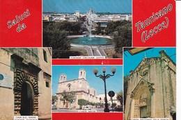 X858 SALUTI DA TAURISANO - VEDUTINE PANORAMICHE - Lecce