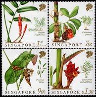 Singapore - 2018 - Singapore Native Gingers - Mint Stamp Set - Singapore (1959-...)