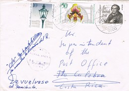 29635. Carta ECHTERDINGEN (Alemania Federal) 1980.  RETOUR To Sender Costa Rica - [7] República Federal