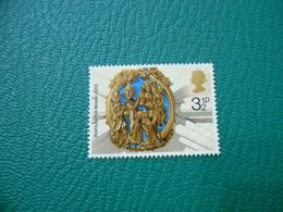 FRANCOBOLLO STAMPS   ELISABETTA II 1974 NATALE 3 1/2 P - 1952-.... (Elisabetta II)