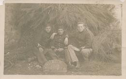 074/27 - Carte Photo MILITARIA -  HEINSCH 1908 Les Inséparables - TP Armoiries ARLON - Aarlen