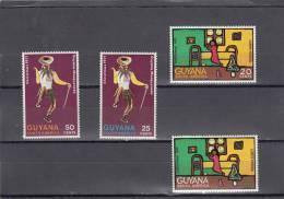 Guyana Nº 386 Al 389 - Guyana (1966-...)