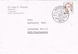 29636. Carta FREILASSING (Alemania Federal) 1987. Fechador Especial AINRING - [7] República Federal