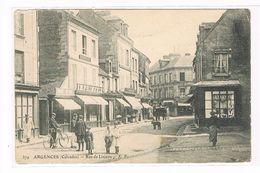 CPA (14) Argences. Rue De Lisieux. Animation.   (B.110) - France