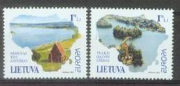 LT 2001-544 EUROPA CEPT, LIETUVA, 1 X 2v, MNH - Europa-CEPT